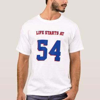 Het Begin van het leven bij Grappige 54ste T Shirt