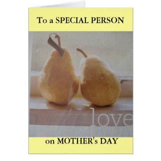 Het begroeten van het moederdag voor SPECIAAL Briefkaarten 0