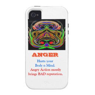 Het Beheer van de WOEDE Case-Mate iPhone 4 Cover