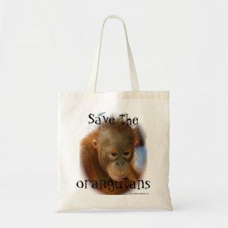 Het Behoud van het Wild van de orangoetan Draagtas