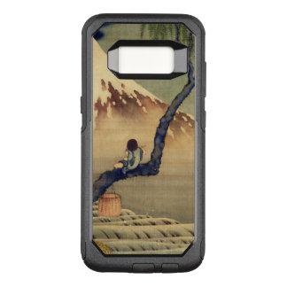 Het Bekijken van de Jongen van Hokusai zet Japanse OtterBox Commuter Samsung Galaxy S8 Hoesje