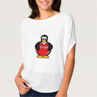Het Bericht van de tekst Technologie Valentijn T Shirt