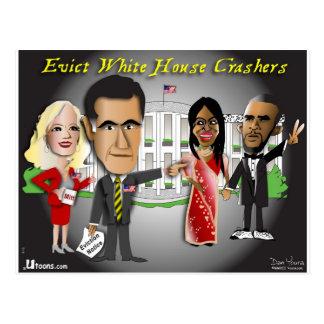 Het Bericht van de Uitzetting van Romney Briefkaart
