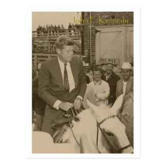 Het berijden JFK Briefkaart