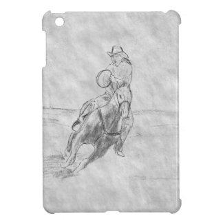 Het Berijden van de cowboy Hoesje Voor iPad Mini