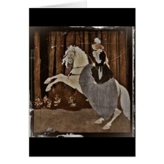 Het berijden van een Paard in het Bos Briefkaarten 0