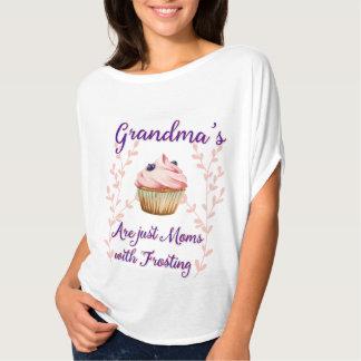 Het Berijpen van de oma Typografie T Shirt