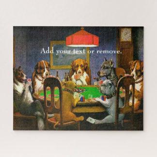 """Het beroemde schilderen: de pook """"Vriend van het Legpuzzel"""