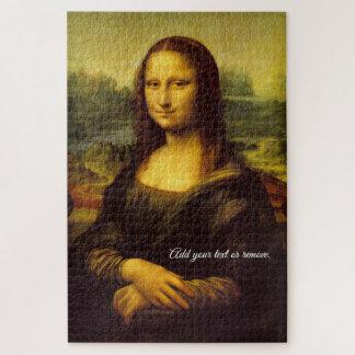 Het beroemde schilderen: Mona Lisa, door Leonardo Legpuzzel
