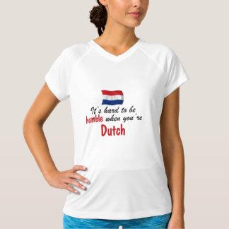 Het bescheiden Nederlands T Shirt