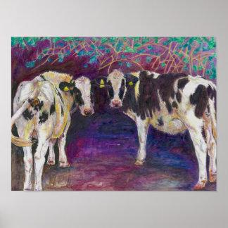 Het beschutten van koeien 2011 poster