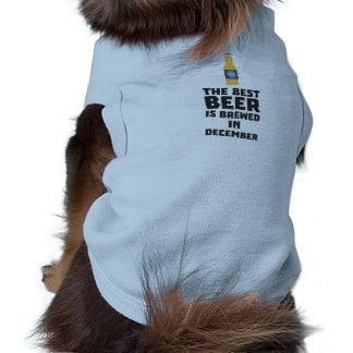 Het beste Bier wordt gebrouwen in December Zfq4u Shirt