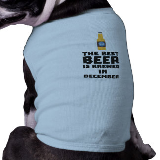 Het beste Bier wordt gebrouwen in December Zfq4u T-shirt
