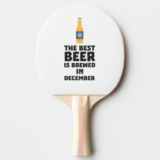 Het beste Bier wordt gebrouwen in December Zfq4u Tafeltennis Bat