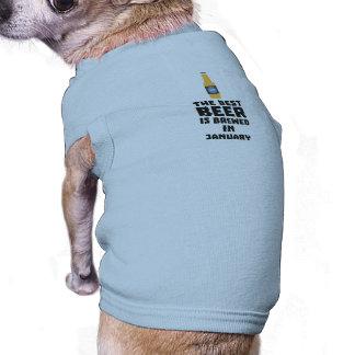 Het beste Bier wordt gebrouwen in Januari Zxe8k Shirt