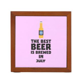 Het beste Bier wordt gebrouwen in Juli Z4kf3 Pennenhouder