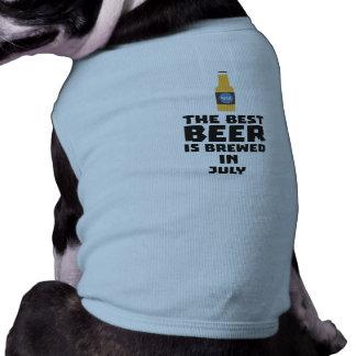 Het beste Bier wordt gebrouwen in Juli Z4kf3 Shirt