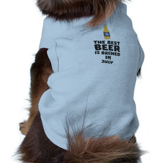 Het beste Bier wordt gebrouwen in Juli Z4kf3 T-shirt