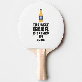 Het beste Bier wordt gebrouwen in Juni Z1u77 Tafeltennis Bat