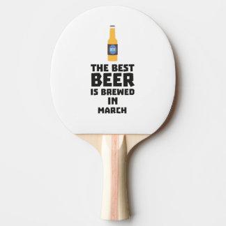 Het beste Bier wordt gebrouwen in Maart Zp9fl Tafeltennis Bat