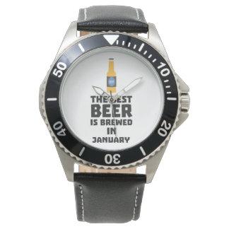 Het beste Bier wordt gebrouwen in Mei Z96o7 Horloge