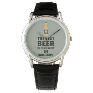 Het beste Bier wordt gebrouwen in Mei Z96o7 Horloges