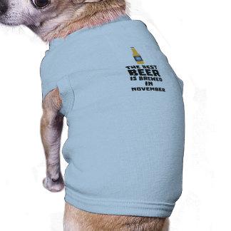 Het beste Bier wordt gebrouwen in November Zk446 T-shirt