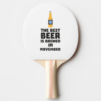 Het beste Bier wordt gebrouwen in November Zk446 Tafeltennis Bat