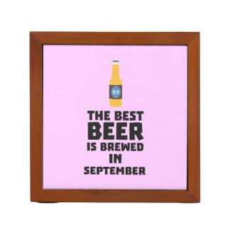 Het beste Bier wordt gebrouwen in September Z40jz Pennenhouder