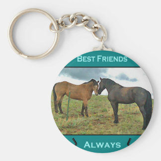 Het beste gevoel van Vrienden met Paarden Sleutelhanger