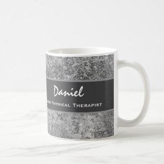 Het beste Grijze Marmer van de FYSIOTHERAPEUT Koffiemok