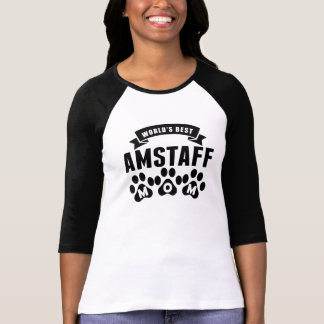 Het Beste Mamma AmStaff van de wereld T Shirt