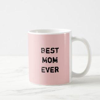 """Het """"BESTE MAMMA OOIT toe"""" Roze Pantone nam Kwarts Koffiemok"""