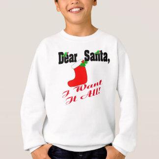 Het beste Overhemd van de Kerstman Trui