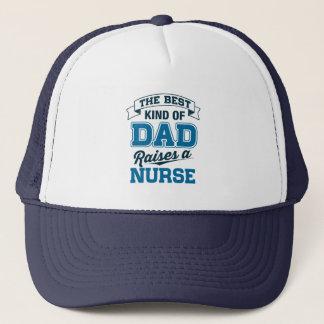 Het beste Soort Papa heft een Verpleegster op Trucker Pet