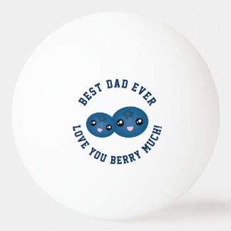 Het beste Vaderdag van de Papa houdt veel van u Pingpongbal
