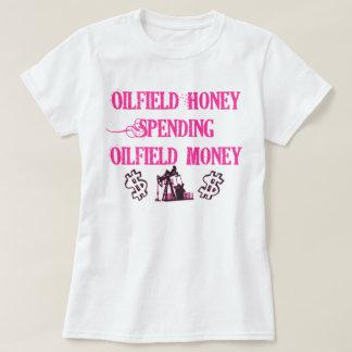 Het Besteden van de Honing van het olieveld T Shirt