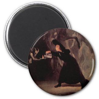 Het betoverde Man door Francisco Goya 1798 Magneet