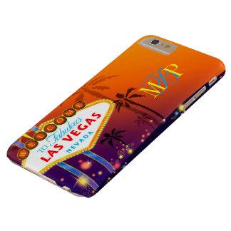 Het betoverende Monogram van Las Vegas Barely There iPhone 6 Plus Hoesje