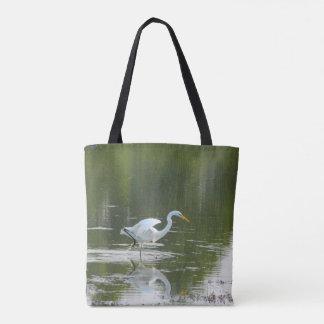 Het bevallige Canvas tas van de Aigrette
