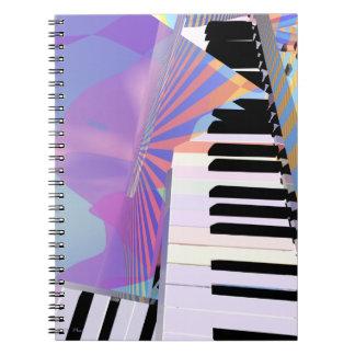 Het bevrijden van de Muziek van het Toetsenbord Notitieboek