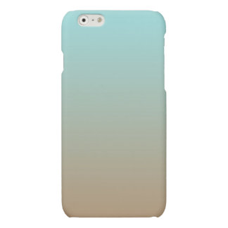 Het bevroren Limpet van de Koffie Blauw en Bruine Matte iPhone 6 Hoesje