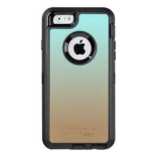 Het bevroren Limpet van de Koffie Blauw en Bruine OtterBox Defender iPhone Hoesje