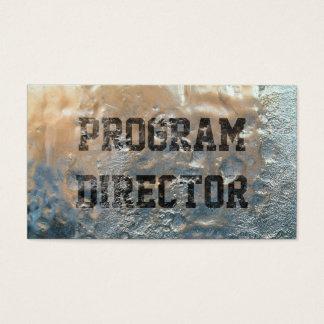 Het bevroren Programma van het Ijs Directeur Visitekaartjes