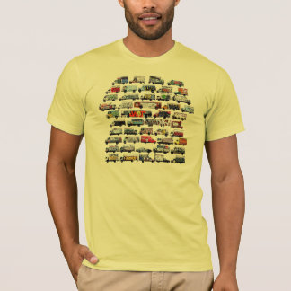 Het bewegen zich Canvases: De Vrachtwagens van T Shirt