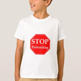 Het Beweren van het einde T Shirt