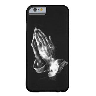 Het bidden handen barely there iPhone 6 hoesje