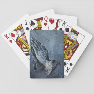 Het bidden Handen Speelkaarten