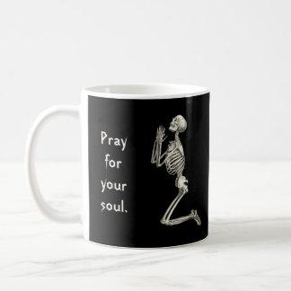 Het bidden Skelet Koffiemok