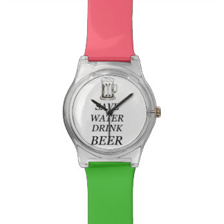 Het bier drink Voedsel Horloge